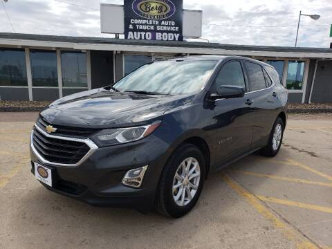 2018 Chevrolet Equinox for sale at BERG AUTO MALL & TRUCKING INC in Beresford SD