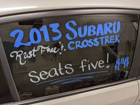 2013 Subaru XV Crosstrek for sale at Kidron Kars INC in Orrville OH
