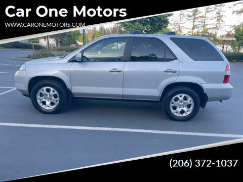 2002 Acura MDX for sale at Car One Motors in Seattle WA