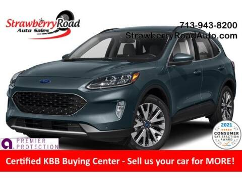 2020 Ford Escape for sale at Strawberry Road Auto Sales in Pasadena TX