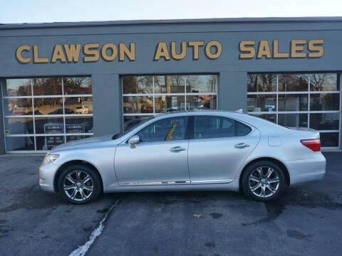 2010 Lexus LS 460 for sale at Clawson Auto Sales in Clawson MI