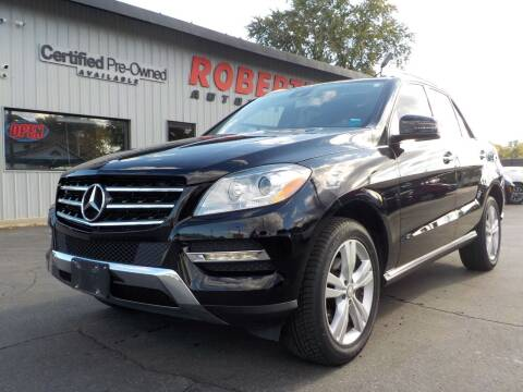 2014 Mercedes-Benz M-Class for sale at Roberti Automotive in Kingston NY