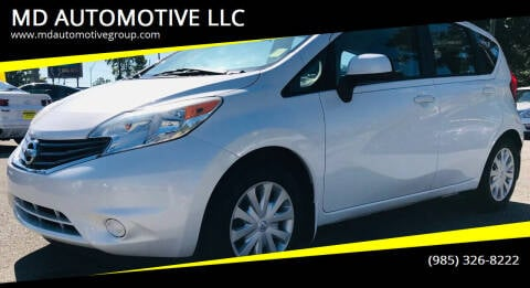 2014 Nissan Versa Note for sale at MD AUTOMOTIVE LLC in Slidell LA