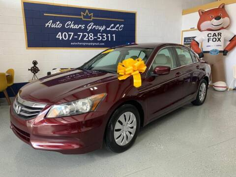2012 Honda Accord for sale at Auto Chars Group LLC in Orlando FL