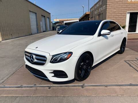 2018 Mercedes-Benz E-Class for sale at CONTRACT AUTOMOTIVE in Las Vegas NV