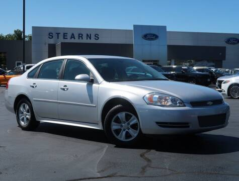 2015 Chevrolet Impala Limited for sale at Stearns Ford in Burlington NC