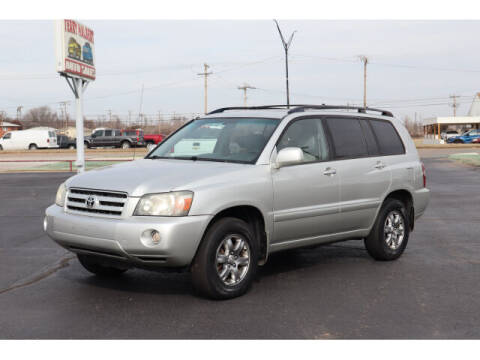 2007 Toyota Highlander for sale at Terry Halbert Auto Sales in Yukon OK