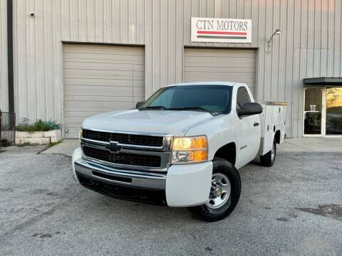 2010 Chevrolet Silverado 2500HD for sale at CTN MOTORS in Houston TX