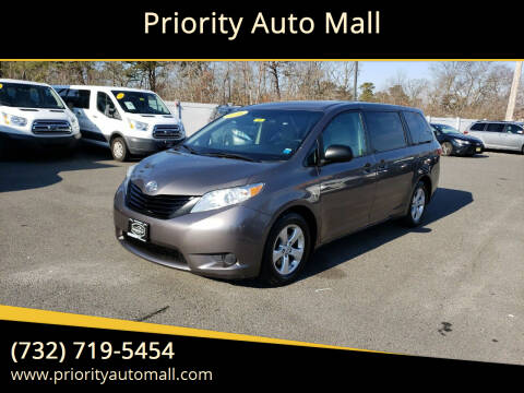 2016 Toyota Sienna for sale at Priority Auto Mall in Lakewood NJ