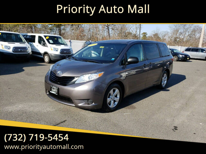 2016 Toyota Sienna for sale at Mr. Minivans Auto Sales - Priority Auto Mall in Lakewood NJ