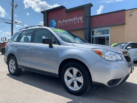2015 Subaru Forester for sale at Automotive Solutions in Louisville KY