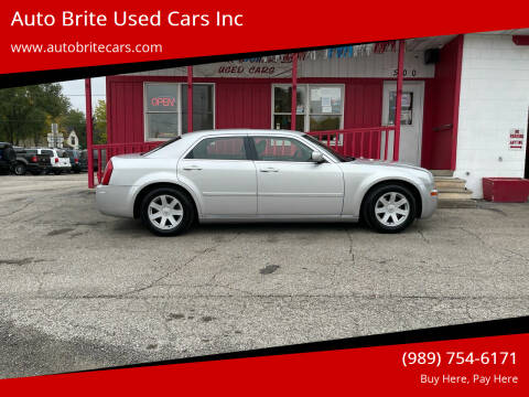 2005 Chrysler 300 for sale at Auto Brite Used Cars Inc in Saginaw MI