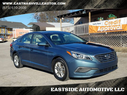 2016 Hyundai Sonata for sale at EASTSIDE AUTOMOTIVE LLC in Nashville TN