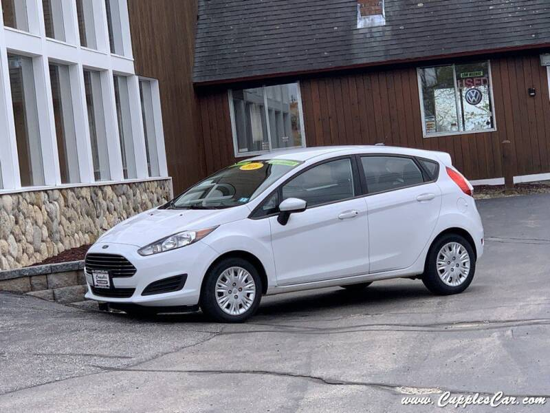 2016 Ford Fiesta for sale at Cupples Car Company in Belmont NH