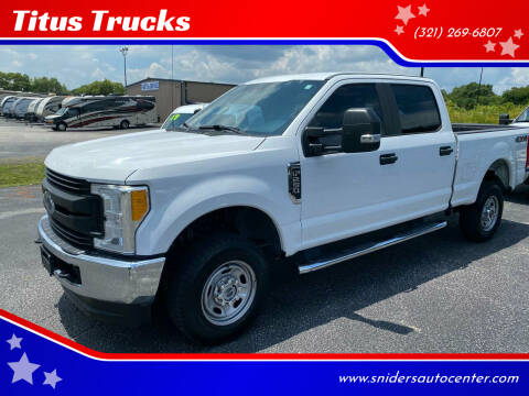 2017 Ford F-250 Super Duty for sale at Titus Trucks in Titusville FL