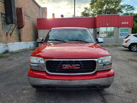 2002 GMC Sierra 1500 for sale at Alpha Motors in Chicago IL