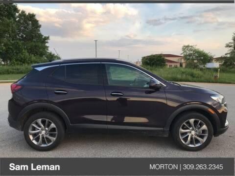 2020 Buick Encore GX for sale at Sam Leman CDJRF Morton in Morton IL