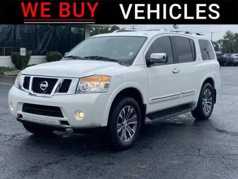 2015 Nissan Armada for sale at Vicksburg Chrysler Dodge Jeep Ram in Vicksburg MI