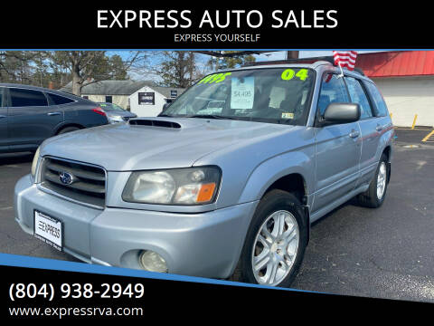 2004 Subaru Forester for sale at EXPRESS AUTO SALES in Midlothian VA