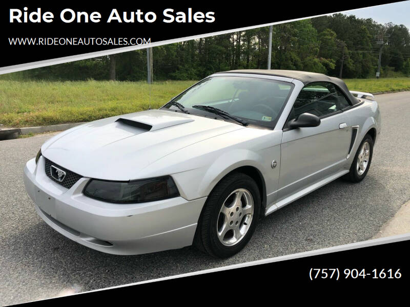 2004 Ford Mustang for sale at Ride One Auto Sales in Norfolk VA