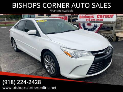 2016 Toyota Camry for sale at BISHOPS CORNER AUTO SALES in Sapulpa OK