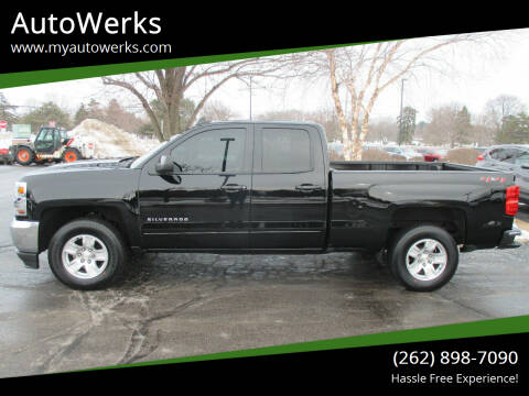 2018 Chevrolet Silverado 1500 for sale at AutoWerks in Sturtevant WI