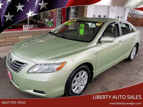 2007 Toyota Camry Hybrid for sale at Liberty Auto Sales in Elgin IL