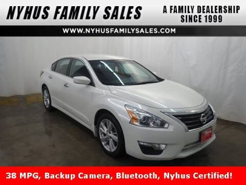2014 Nissan Altima for sale at Nyhus Family Sales in Perham MN