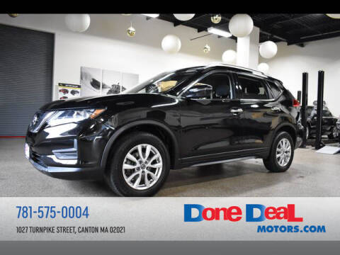 2017 Nissan Rogue for sale at DONE DEAL MOTORS in Canton MA
