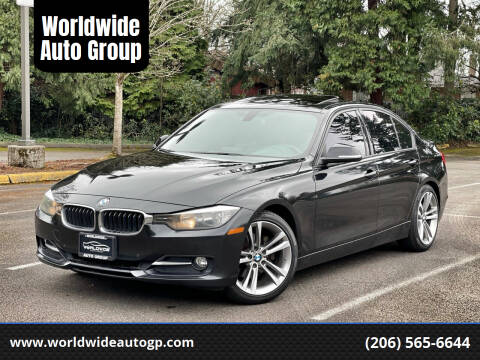 2014 BMW 3 Series for sale at Worldwide Auto Group in Auburn WA