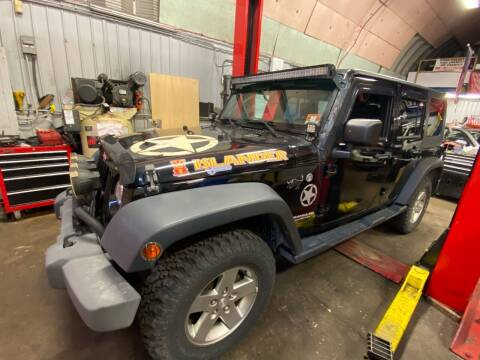 2010 Jeep Wrangler Unlimited for sale at White River Auto Sales in New Rochelle NY