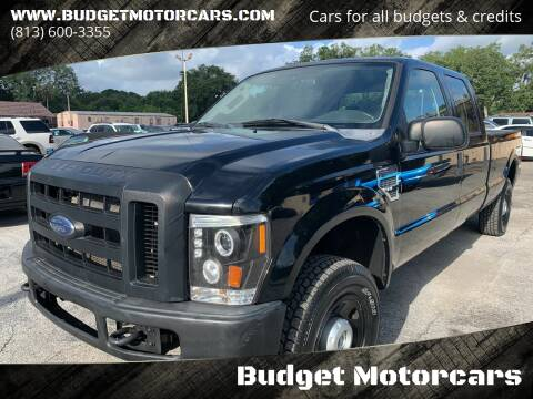 2008 Ford F-250 Super Duty for sale at Budget Motorcars in Tampa FL