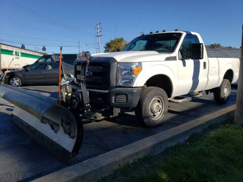2015 Ford F-250 Super Duty for sale at COLONIAL AUTO SALES in North Lima OH