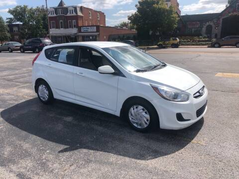 2013 Hyundai Accent for sale at DC Auto Sales Inc in Saint Louis MO
