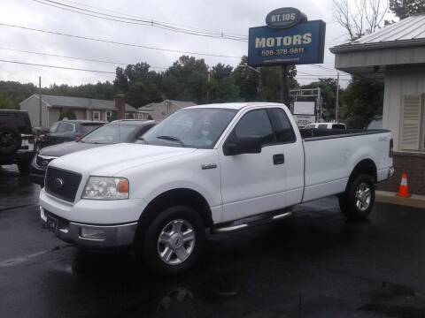 2004 Ford F-150 for sale at Route 106 Motors in East Bridgewater MA