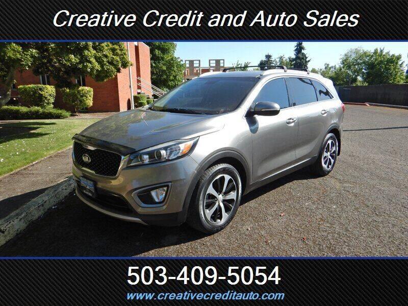 2016 Kia Sorento for sale at Creative Credit & Auto Sales in Salem OR