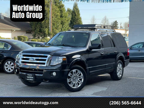 2014 Ford Expedition for sale at Worldwide Auto Group in Auburn WA