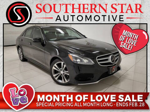 2014 Mercedes-Benz E-Class for sale at Southern Star Automotive, Inc. in Duluth GA