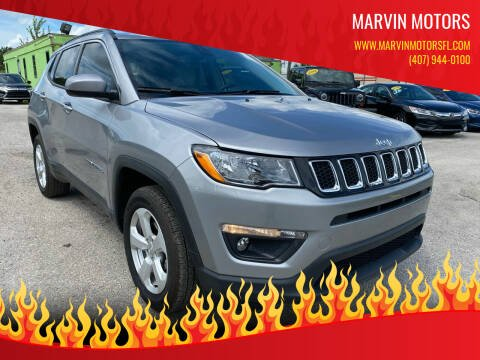 2019 Jeep Compass for sale at Marvin Motors in Kissimmee FL
