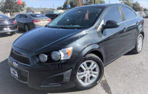 2013 Chevrolet Sonic for sale at Alvarez Auto Sales in Kennewick WA