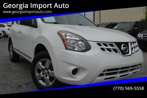 2014 Nissan Rogue Select for sale at Georgia Import Auto in Alpharetta GA