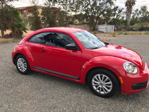 2012 Volkswagen Beetle for sale at Quintero's Auto Sales in Vacaville CA