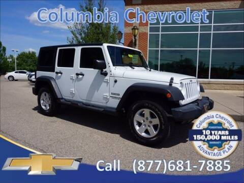 2017 Jeep Wrangler Unlimited for sale at COLUMBIA CHEVROLET in Cincinnati OH