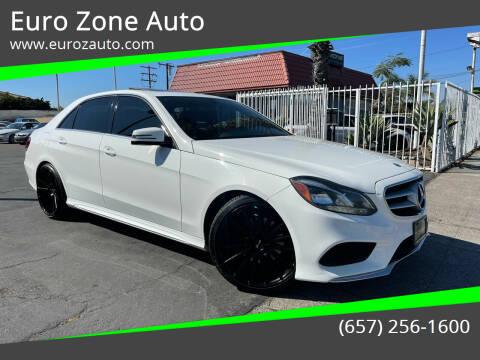 2014 Mercedes-Benz E-Class for sale at Euro Zone Auto in Stanton CA