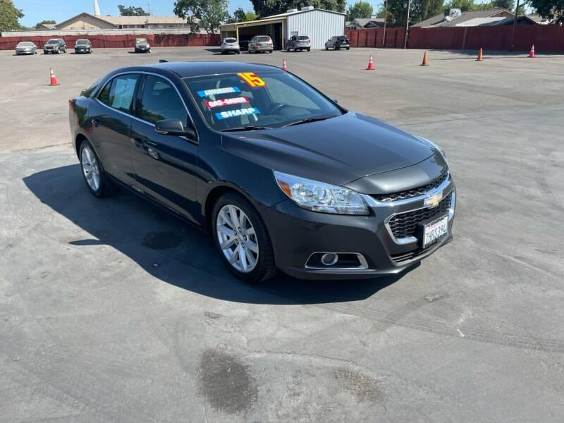 2015 Chevrolet Malibu for sale at Mega Motors Inc. in Stockton CA