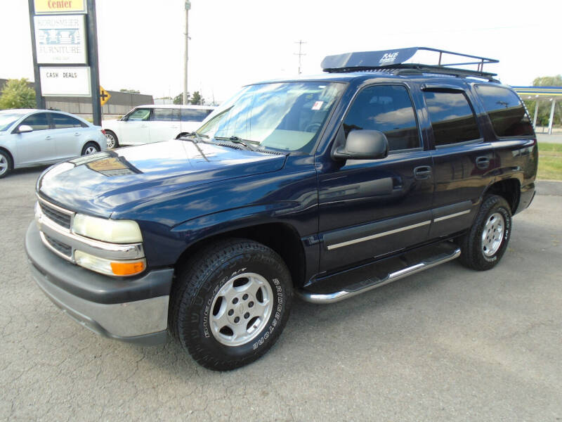 2004 Chevrolet Tahoe for sale at H & R AUTO SALES in Conway AR
