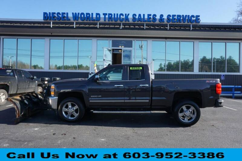 2015 Chevrolet Silverado 2500HD for sale at Diesel World Truck Sales in Plaistow NH