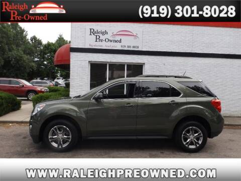 2015 Chevrolet Equinox for sale at Raleigh Pre-Owned in Raleigh NC