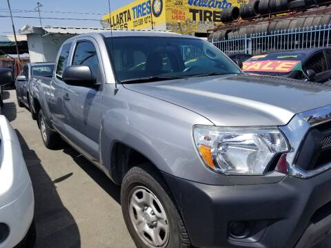 2015 Toyota Tacoma for sale at Ournextcar/Ramirez Auto Sales in Downey CA