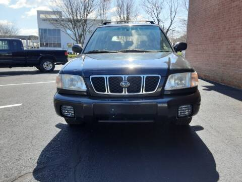 2001 Subaru Forester for sale at Fredericksburg Auto Finance Inc. in Fredericksburg VA